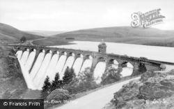 Elan Valley, Craig Goch Dam c.1955