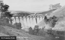 Elan Valley, Craig Goch Dam c.1960