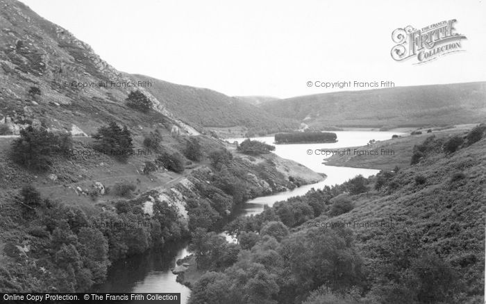 Photo of Elan Valley, From The Craig Coch Dam c.1955