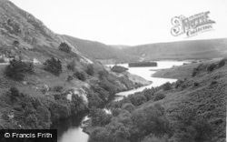 Elan Valley, From The Craig Coch Dam c.1955