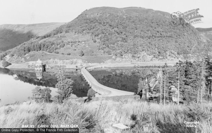 Photo of Elan Valley, Garreg Ddu c.1960