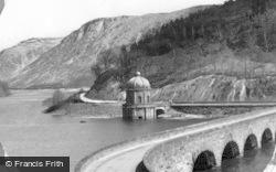 Elan Valley, Garreg Ddu Dam c.1955
