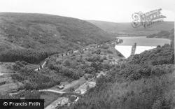 Elan Valley, Pen-Y-Garreg Dam c.1955