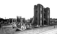 Elgin, the Cathedral from north west c1890
