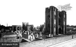 Elgin, The Cathedral From North West c.1890