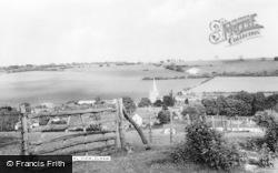 Elham, General View c.1960