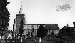 Elham, St Mary's Church c.1960
