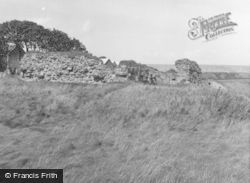 Elie, Andross Castle 1953