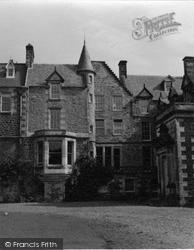 Elie, Balcarres House 1953