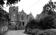 Eling, St Mary's Church c1955