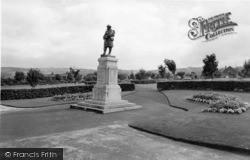 Elland, The Memorial c.1965