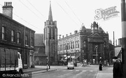 Elland, The Town Hall c.1960