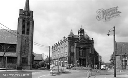 Elland, The Town Hall c.1965