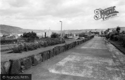 Elland, View From Memorial Gardens c.1965
