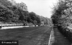 Elland, Wood Bottom, The Promenade c.1965