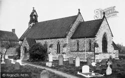 St Anne's Church c.1955, Ellerker