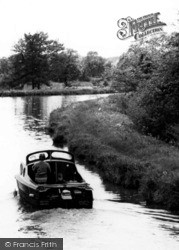 Boat On The Canal c.1960, Ellesmere