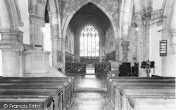 Church Interior c.1960, Ellesmere