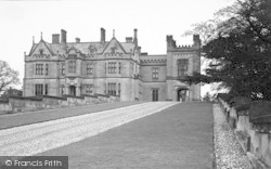 Oteley Hall And Drive c.1955, Ellesmere