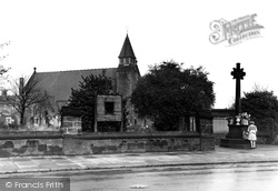 Ellesmere Port, Christ Church c.1955