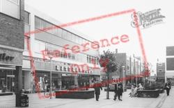 Ellesmere Port, Littlewoods Store, Marina Walk c.1965