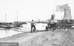 Ellesmere Port, Manchester Ship Canal c.1955