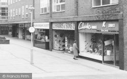 Ellesmere Port, Marina Walk Shops c.1965