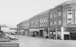 Ellesmere Port, Shopping Parade, Marina Drive c.1965