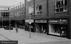 Ellesmere Port, Shops In Marina Walk c.1965