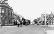 Ellesmere Port, Station Road c1955