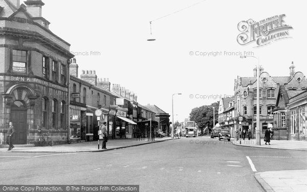Ellesmere Port, Station Road c.1955