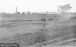 Ellesmere Port, The Refineries c.1955