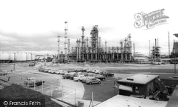 Ellesmere Port, The Shell Refinery c.1965