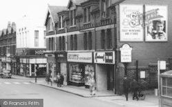 Ellesmere Port, Whitby Road Businesses c.1965