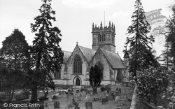St Mary's Church c.1955, Ellesmere