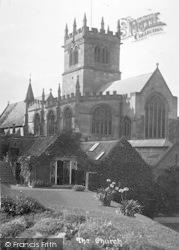 The Church c.1935, Ellesmere