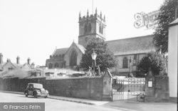 The Church c.1955, Ellesmere
