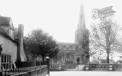 Ellington, All Saints Church And Village 1906