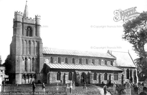 Photo of Elm, All Saints Church 1901