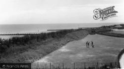 Elmer, The Beach And Putting Green c.1960