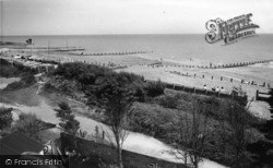 Elmer, The Beach, Elmer Sands c.1960