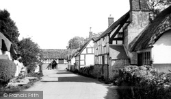 Elmley Castle, The Village c.1960