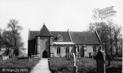 Elmstead Market, St Anne And St Laurence The Parish Church c.1960