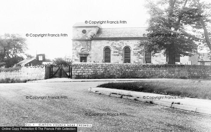 Photo of Elmton, St Peter's Church c.1955