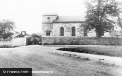 Elmton, St Peter's Church c.1955