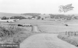 Elsdon, General View From Morpeth Road c.1960
