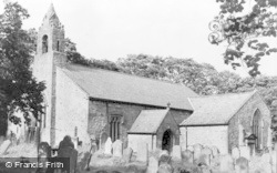 Elsdon, The Church c.1960