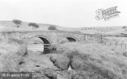 Elsdon, The Old Bridge c.1960