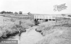 Elsdon, The River c.1960