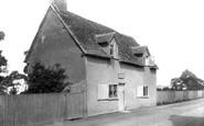 Elstow, Bunyan's Cottage 1921